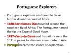 portuguese explorers