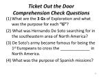 ticket out the door comprehension check questions