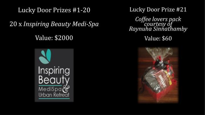 Lucky Door Prize #21