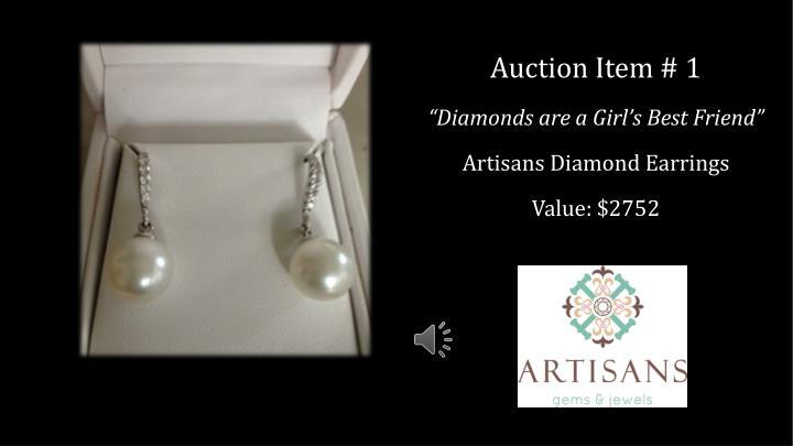 Auction Item # 1