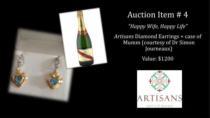 Auction Item # 4