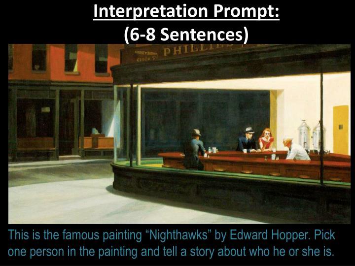 Interpretation Prompt:
