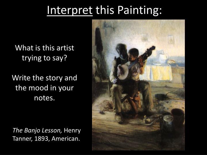 Interpret