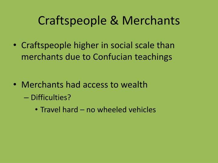 Craftspeople & Merchants