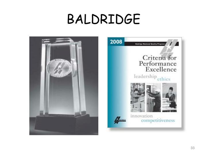 baldridge assigment