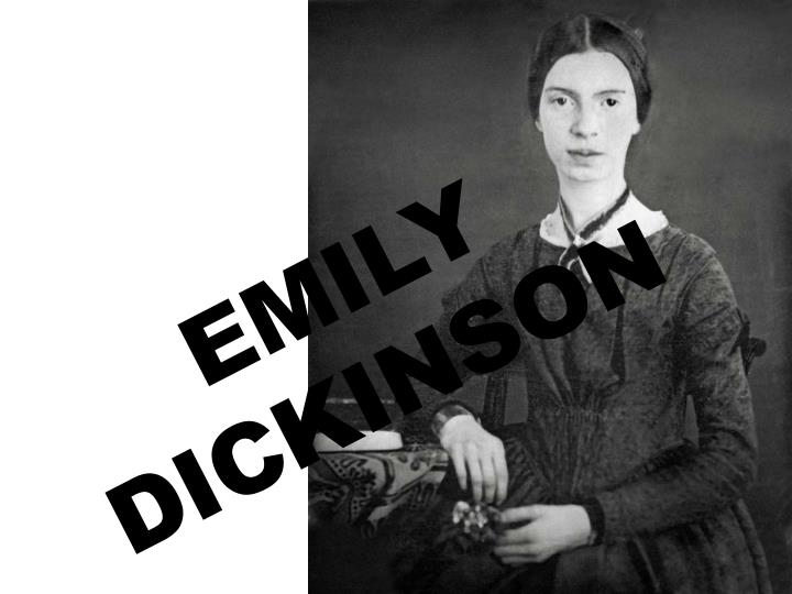 emily dickinson the unspoken transcendentalist Herman melville, poet emily dickinson and italian poet ugo foscolo characteristics while transcendentalism influenced individual dark romantic for melville, religious doubt was an unspoken subtext to much of his.