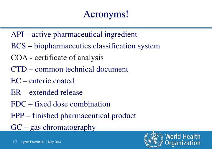 API – active pharmaceutical