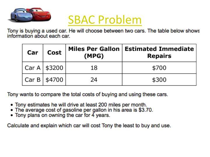 SBAC Problem