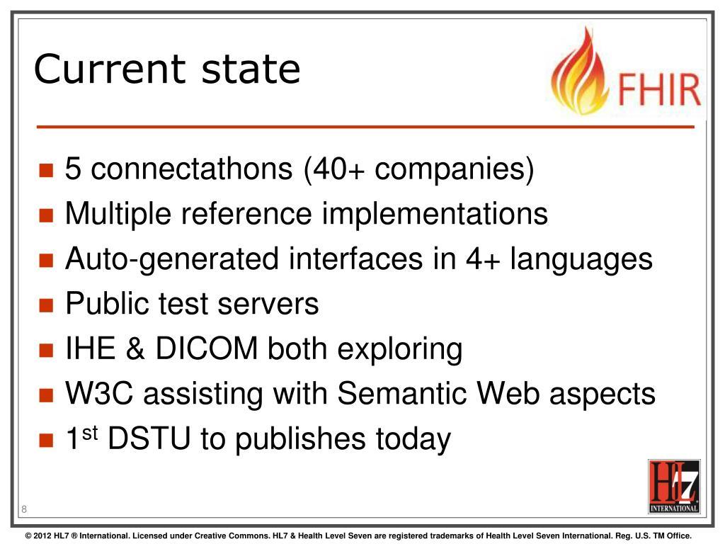 PPT - HL7 FHIR PowerPoint Presentation - ID:2500456