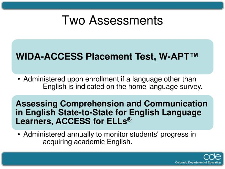 assessment of english language learners essay Free essay on english language learners  775 words - 4 pages english language learner's assessment english language learners, (ell),.