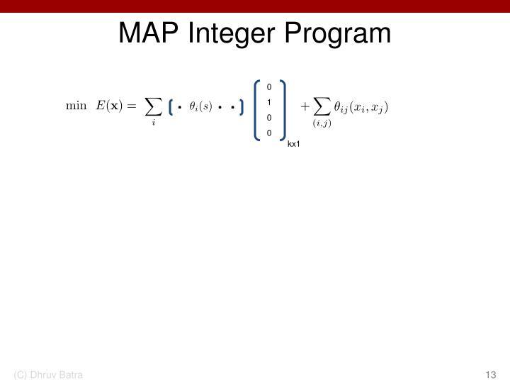 MAP Integer