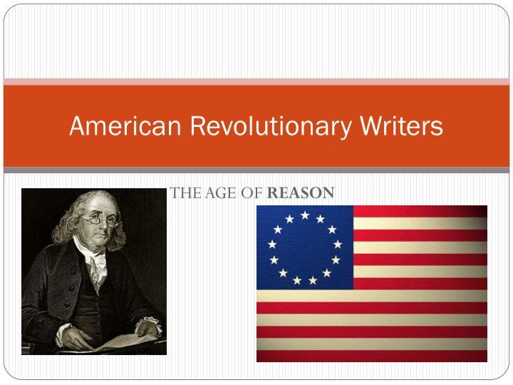 patrick henry thomas paine and thomas jeffersons contribution to the american revolution