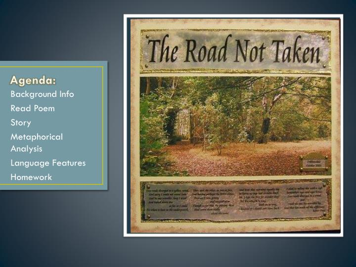 the road not taken tpcastt Find this pin and more on tpcastt and poetry by tcphlip413 tpcastt project for 8th graders or high school free metaphor comic for the road not taken.