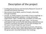 description of the project
