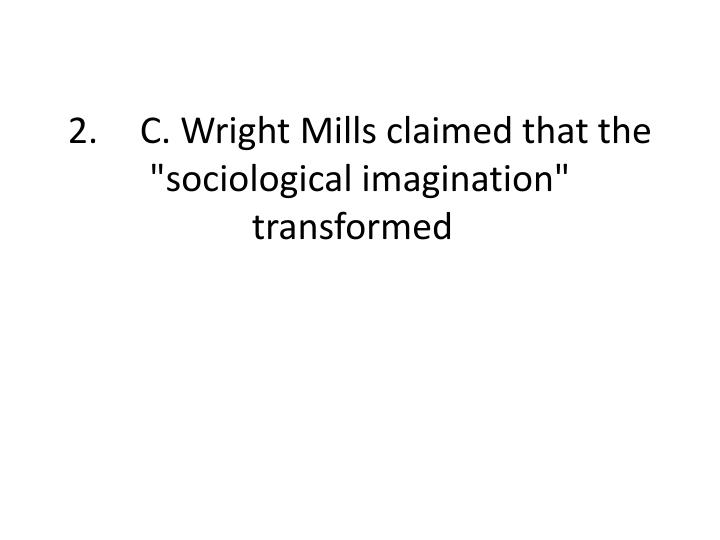 promise essay charles wright mills
