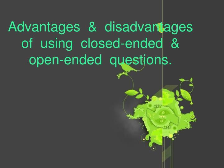 Advantages  &