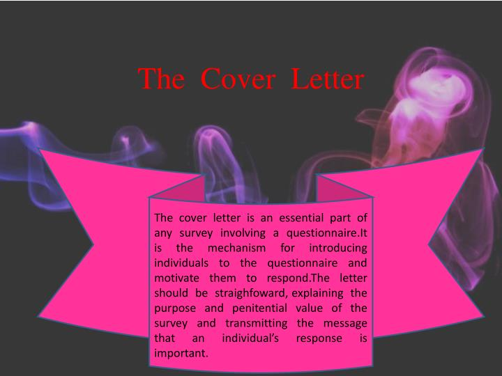 The  Cover  Letter