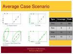 average case scenario