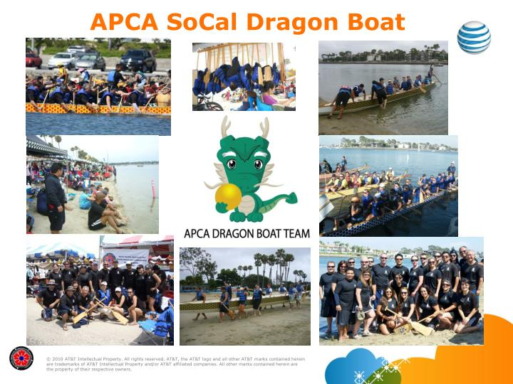 Apca socal dragon boat team