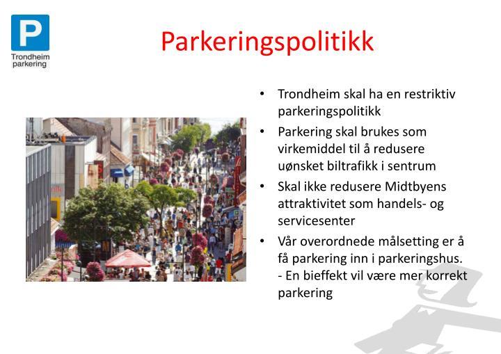 Parkeringspolitikk