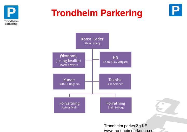 Trondheim Parkering