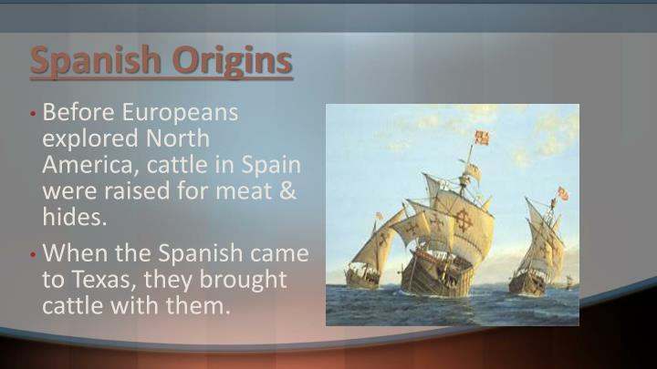 Spanish origins