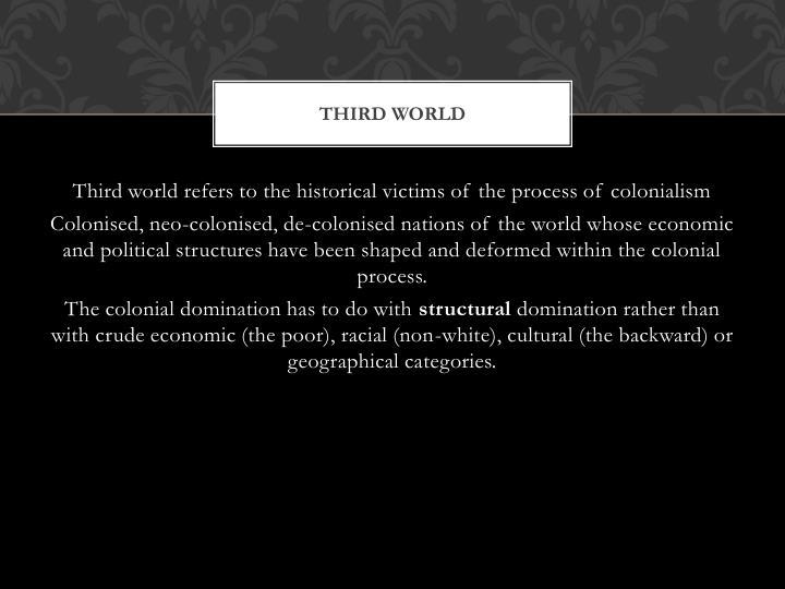 Third World