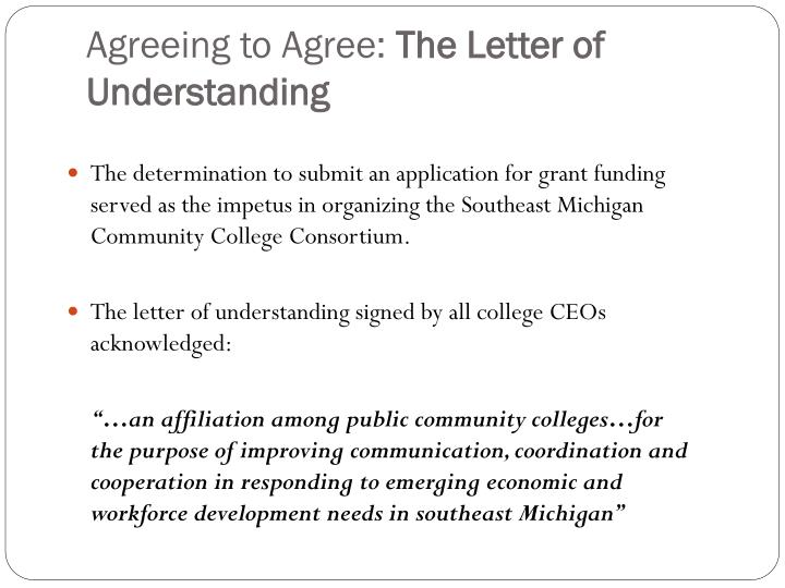 Agreeing to Agree: