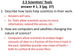 2 3 scientists tools answer 1 3 pg 37