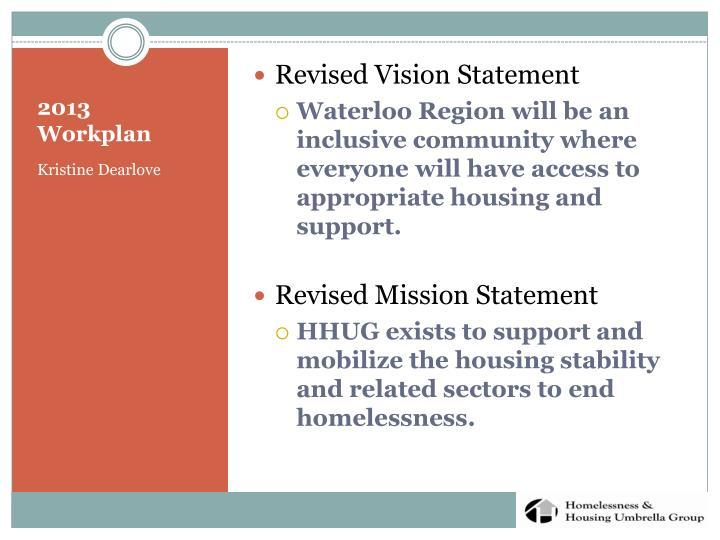 Revised Vision Statement