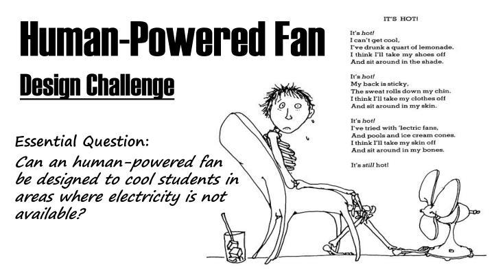Human-Powered Fan