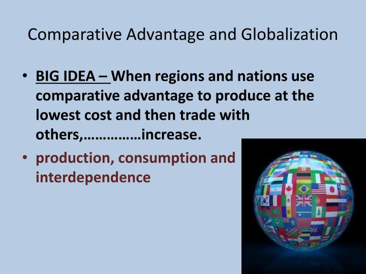 the advantages of globalization of economic General analysis on globalization of the economy with international trade, financial transfers, and foreign direct investment, the economy is increasingly internationally interconnected this page analyzes economic globalization, and examines how it might be resisted or regulated in order to promote sustainable development.