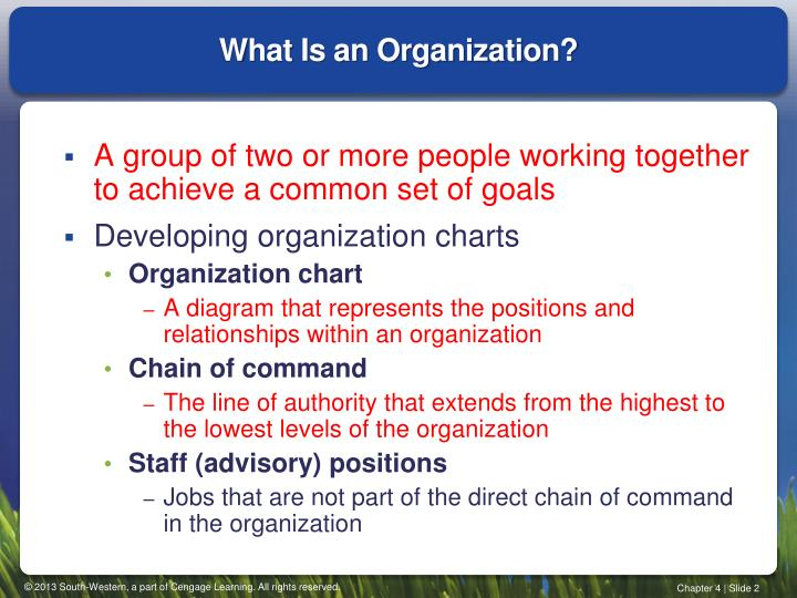 what is a command group in an organization