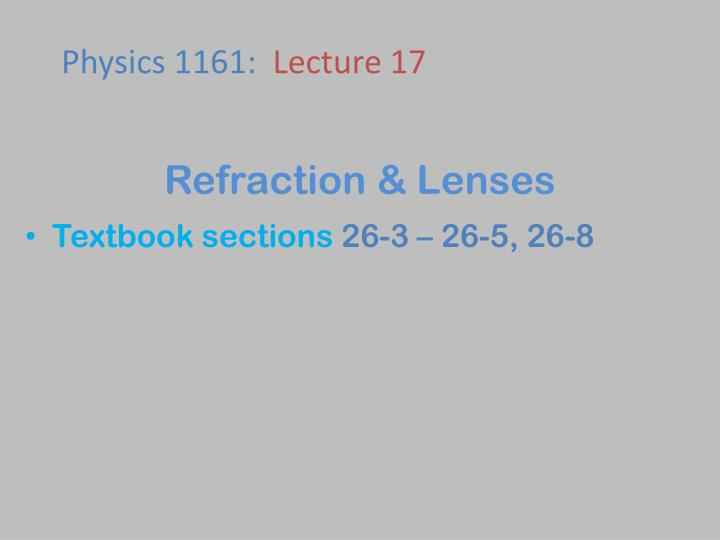 refraction lenses n.