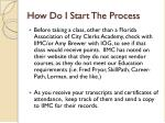 how do i start the process1