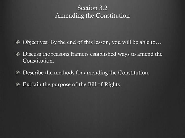 Section 3.2