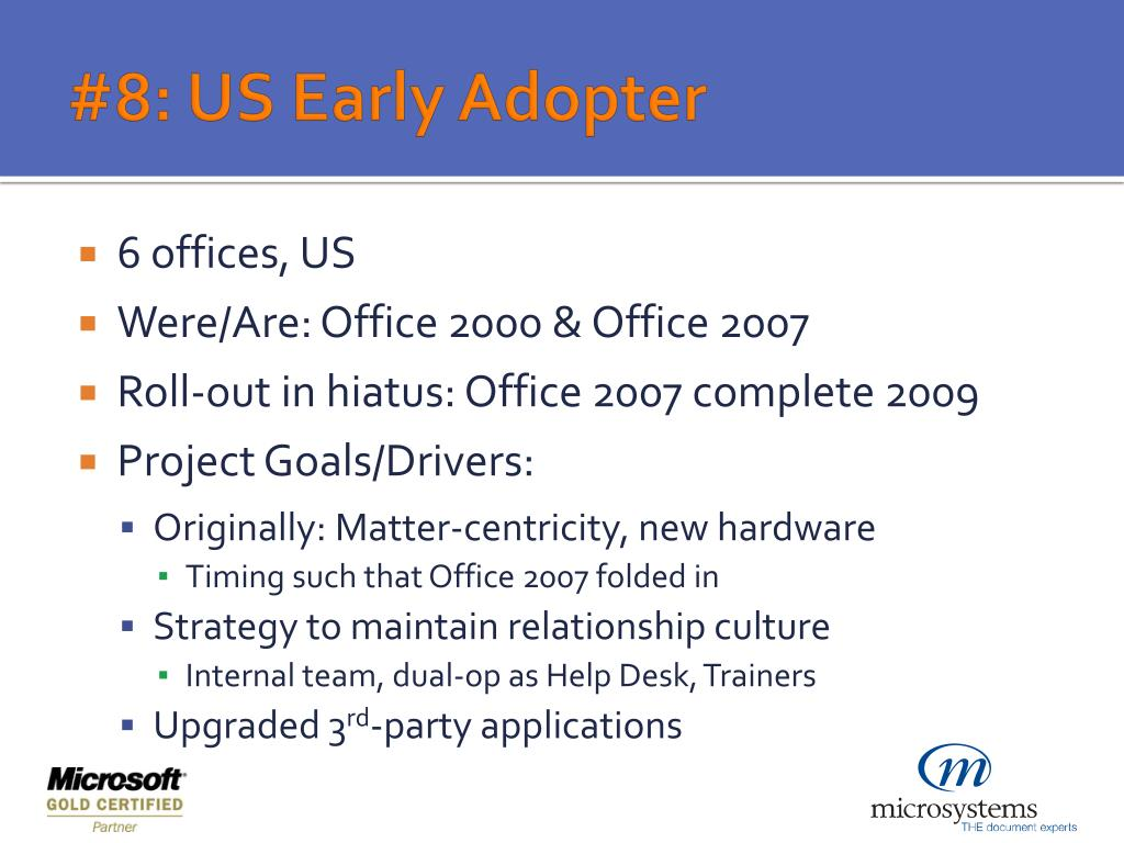 PPT - Office 2007 Deployment Considerations & Strategies PowerPoint