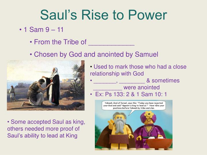 Saul's Rise to Power