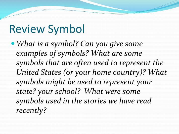 Ppt A Symbol Of Myself Powerpoint Presentation Id2504204