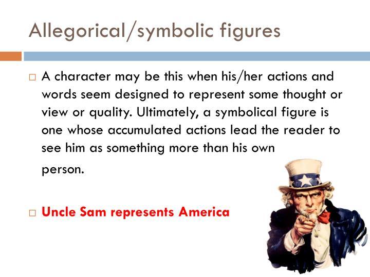Allegorical/symbolic figures