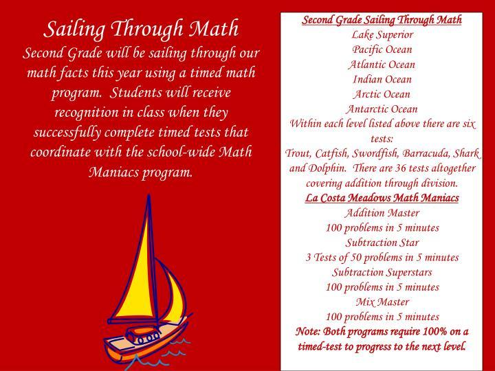 Sailing Through Math