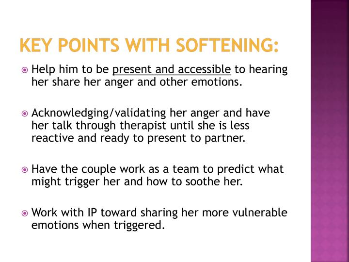 Key Points with Softening: