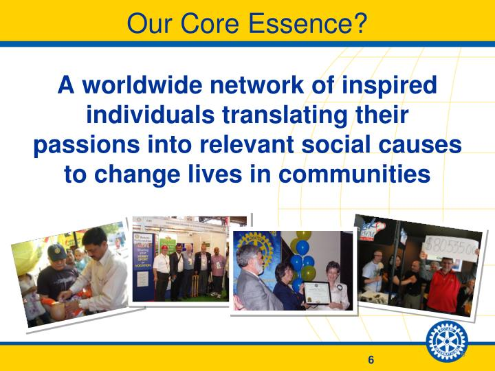 Our Core Essence?