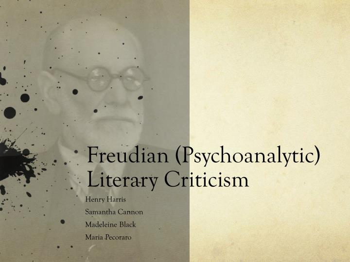freudian criticism reading characters trauma Psychoanalytical criticism the development of psychoanalytic theory (deriving from the work of sigmund freud) has had a major influence on literary criticism in a.