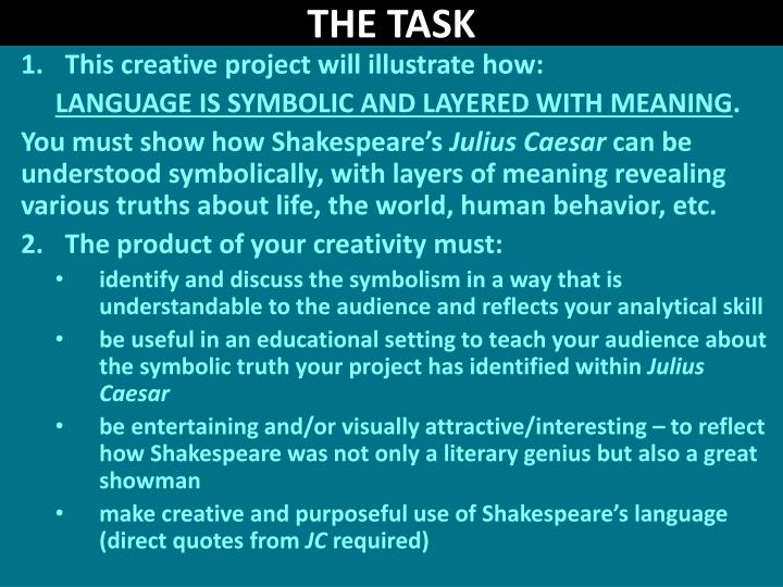 discuss how shakespeare uses language and In two of shakespeare's plays, hamlet and othello, the power of words helps drive the central action of the plots while there are different motivations for characters to employ the power of words and language in both hamlet and othello , the result is generally the same.