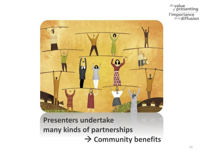 what are three advantages of community partnerships Building agency/community partnerships outlines the importance of community partnerships with child welfare this three part series is designed to.
