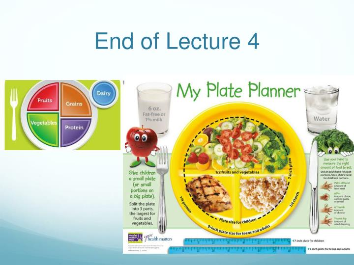 End of Lecture 4
