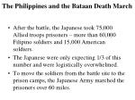 the philippines and the bataan death march1
