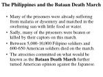 the philippines and the bataan death march2