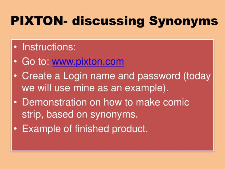 Ppt A Lesson On Synonyms Powerpoint Presentation Id2505531